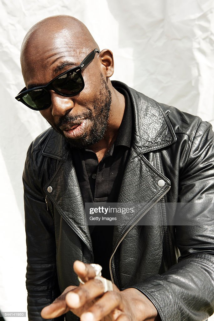In this handout image supplied by Ray Ban Ghostpoet wearing Ray-Ban poses at the Ray-Ban Rooms at Barclaycard Presents British Summer Time Hyde Park on July 1, 2016 in London, United Kingdom.