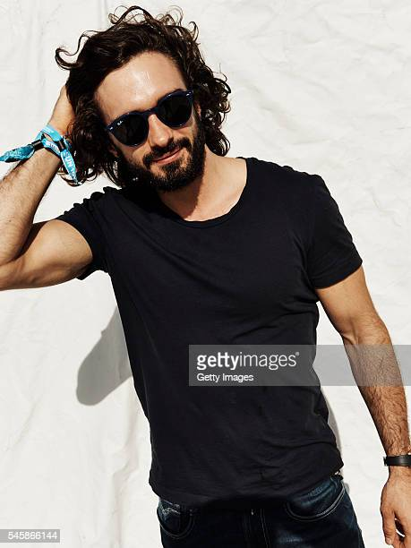 In this handout image supplied by RayBan Joe Wicks wearing RayBan poses at the RayBan Rooms at Barclaycard Presents British Summer Time Hyde Park on...