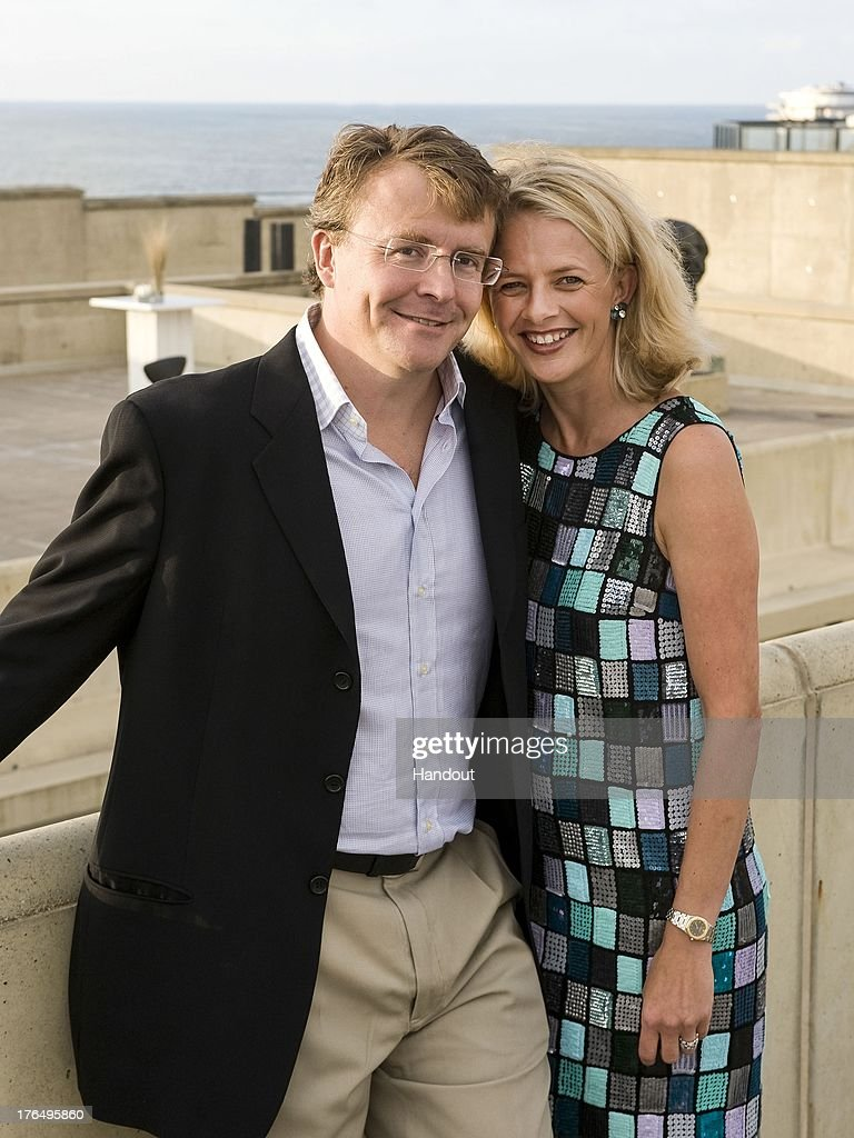 In this handout image supplied by Rijks Voorlichtings Dienst (RVD), Prince Friso of The Netherlands and Princess Mabel of The Netherlands pose on August 29, 2008 at an unspecified location. Prince Friso was critically injured in a skiing accident in Lech in 2012 and died August 12, 2013 as a result of his injuries.