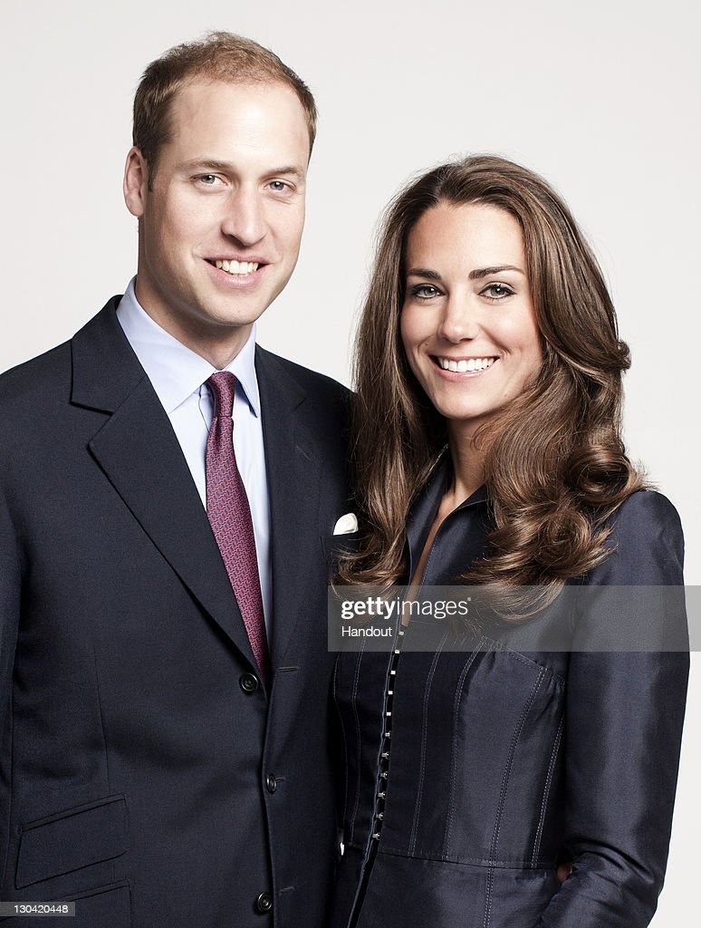 In this handout image supplied by St James's Palace, <a gi-track='captionPersonalityLinkClicked' href=/galleries/search?phrase=Prince+William&family=editorial&specificpeople=178205 ng-click='$event.stopPropagation()'>Prince William</a>, Duke of Cambridge and Catherine, Duchess of Cambridge pose for the official tour portrait for their trip to Canada and California in the Garden's of Clarence House on June 3, 2011 in London. England. This image has been released on October 26, 2011 to coincide with the Royal couple's visit to UNICEF next week in Copenhagen.