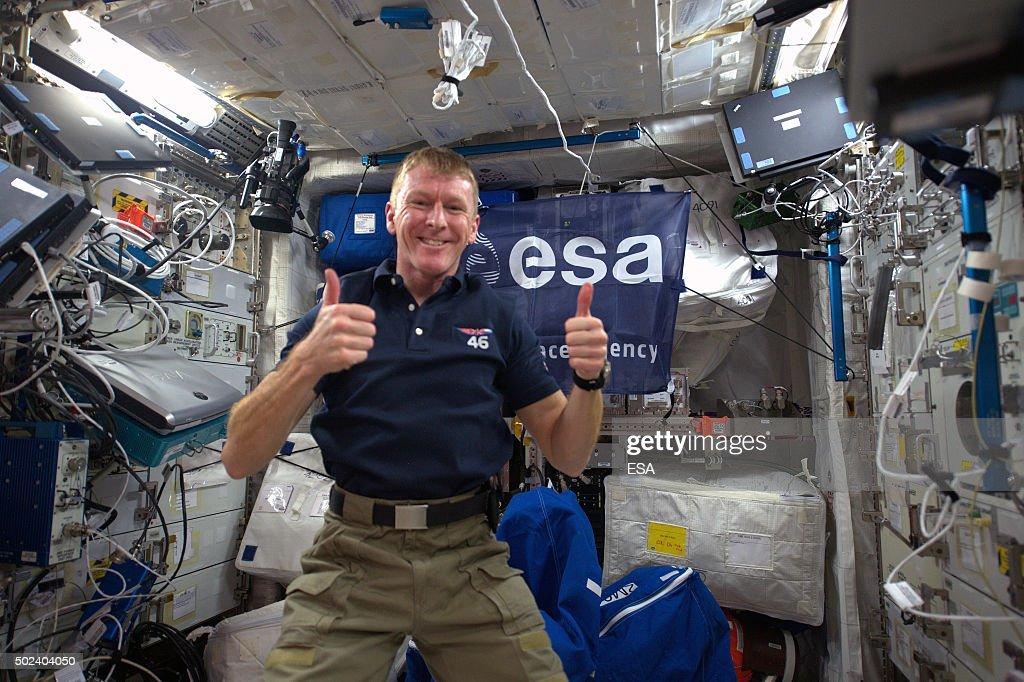 ESA Astronaut Tim Peake Carries Out Principia Mission On ISS