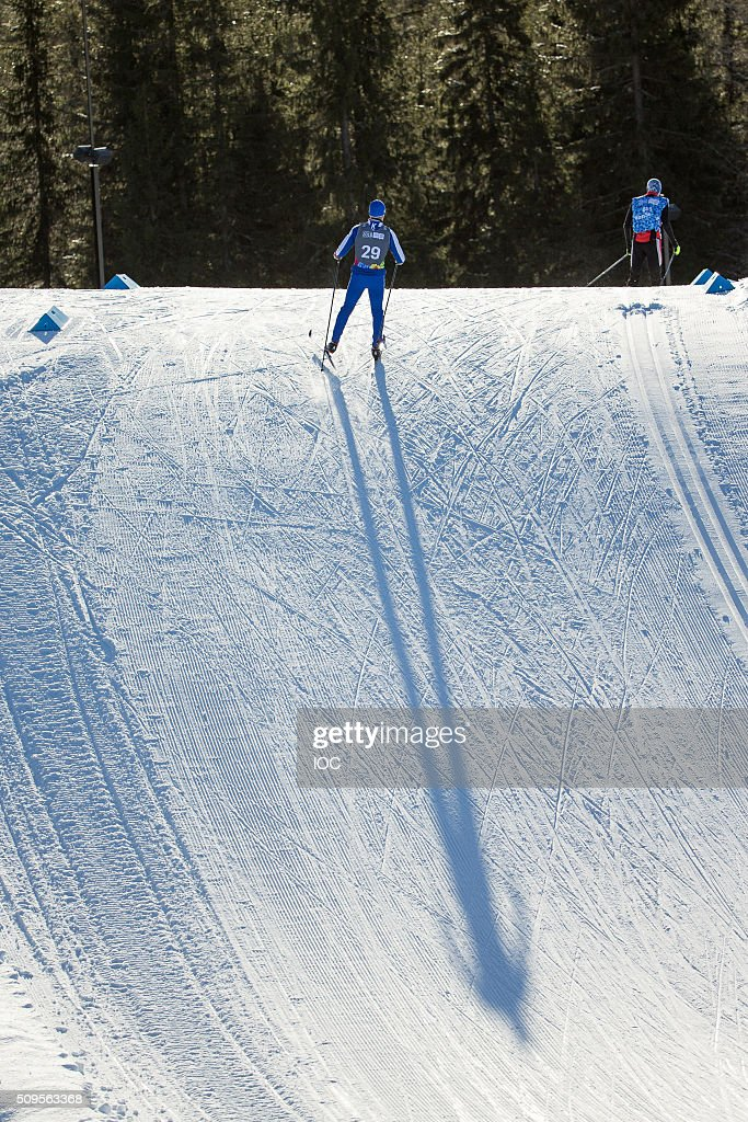 In this handout image supplied by the IOC, An athlete trains at the Birkebeineren Cross Country Stadium before the Winter Youth Olympic Games on February 11, 2016 in Lillehammer, Norway.