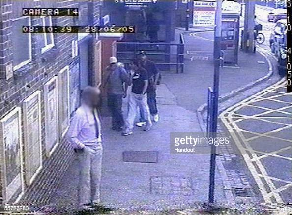 In this handout image taken from CCTV footage and released by the Metropolitan Police on September 20 three of the four London bombers Mohammed...