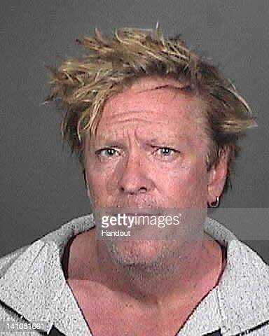 In this handout images provided by the Los Angeles County Sheriffs Department actor Michael Madsen is seen in a booking photo at Lost Hills Sheriff's...