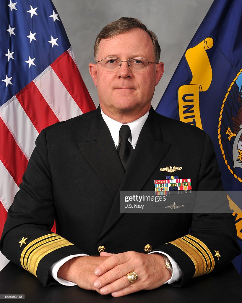 UNSPECIFIED - UNDATED - In this handout photo acquired from the U.S. Navy on October 10, 2013, deputy commander of U.S. nuclear forces, Vice Adm. Tim Giardina poses for a portrait. Giardina was relieved of duty on October 9, 2013 amid allegations that he used $1,500 in counterfeit chips at the Horseshoe Casino in Council Bluffs, Iowa.