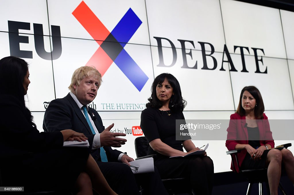 Leave And Remain Camps Go Head To Head In Huffington Post/Daily Telegraph EU Referendum Debate
