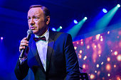 In this handout photo provided by Best Buddies actor Kevin Spacey performs at the Venetian Ball 2014 to celebrate the launch of Best Buddies Macao...