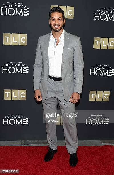 In this handout photo provided by Discovery Actor Charles Justo attends TLC 'Too Close To Home' Screening at The Paley Center for Media on August 16...