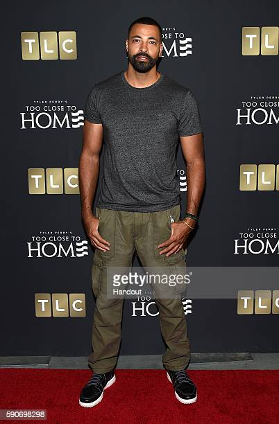 In this handout photo provided by Discovery Actor Timon Kyle Durrett attends TLC 'Too Close To Home' Screening at The Paley Center for Media on...