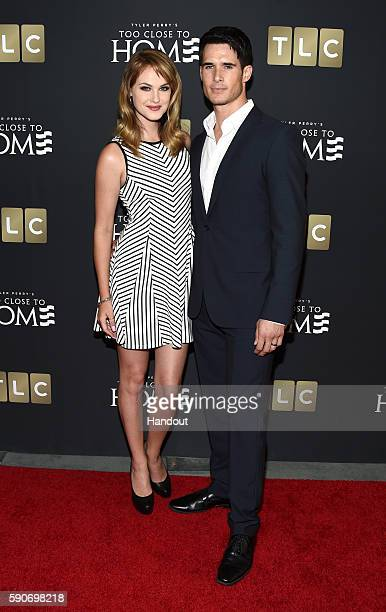 In this handout photo provided by Discovery Natalie Fabry and actor Nick Ballard attend TLC 'Too Close To Home' Screening at The Paley Center for...