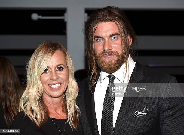 In this handout photo provided by Discovery Paige Hurn and actor Brock O'Hurn attend TLC 'Too Close To Home' Screening at The Paley Center for Media...