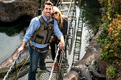 In this handout photo provided by Disney Parks actress and model Kate Upton and Detroit Tigers pitcher Justin Verlander are all smiles during a...