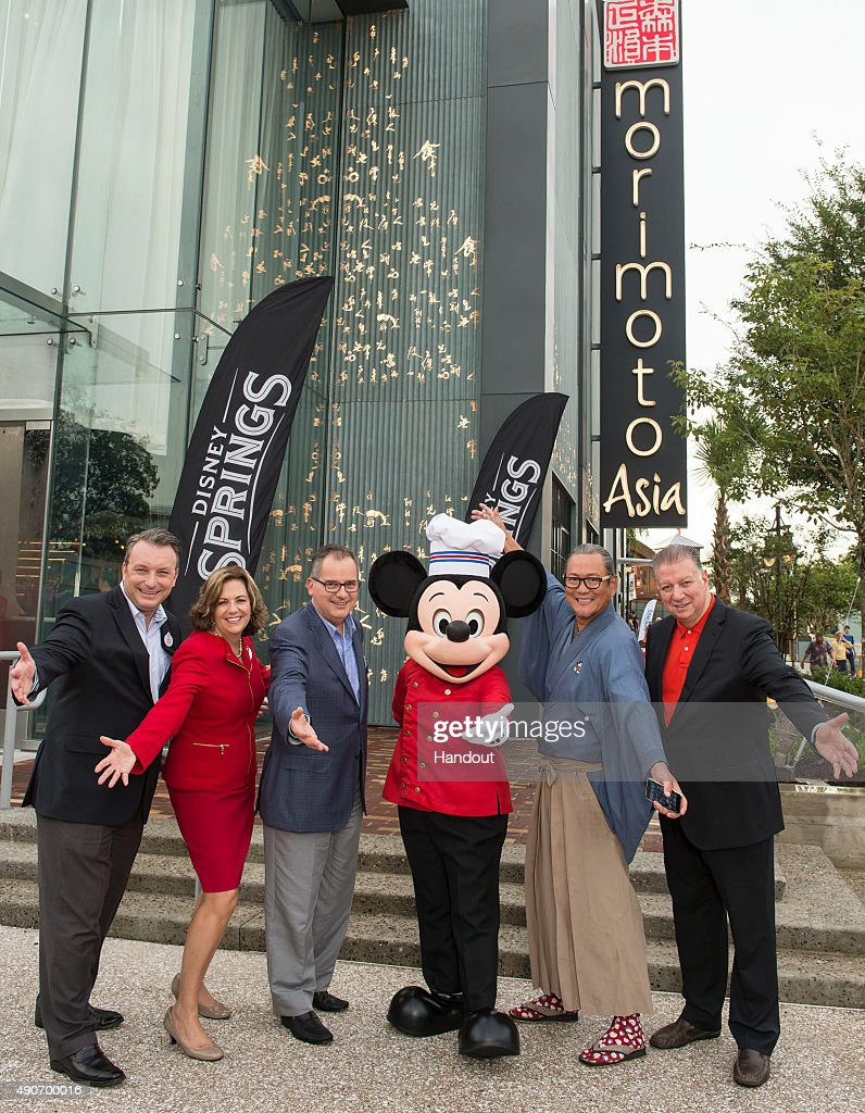 In this handout photo provided by Disney Parks Disney Springs Vice President Keith Bradford Disney Springs and ESPN Wide World of Sports Complex...