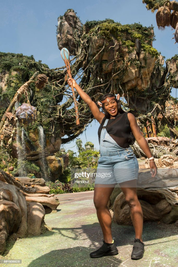 Tennis Superstar Serena Williams Explores Pandora - The World Of Avatar At Walt Disney World Resort