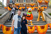 Jonathan Scott and Zooey Deschanel Celebrate Halloween...