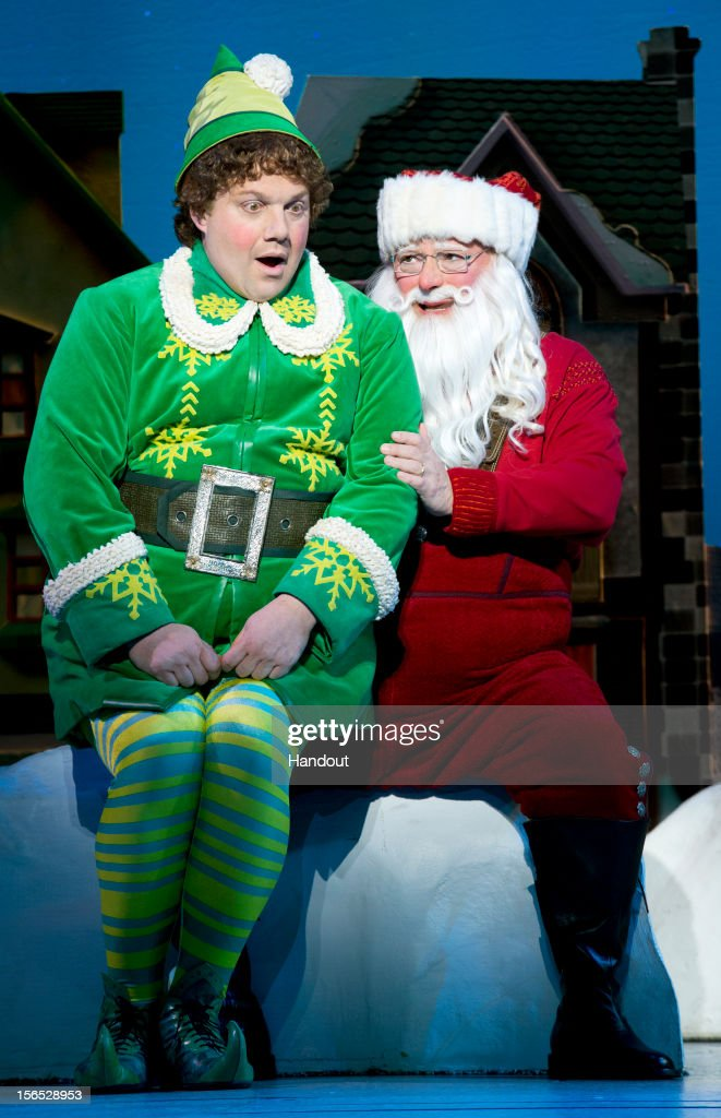 """Elf"" The Musical At The Al Hirschfeld Theatre"