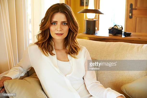 In this handout photo provided by Emirates Actress turned fashion designer Mischa Barton poses at the Emirates Wolgan Valley Resort Spa on October 2...