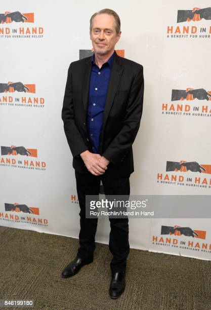 In this handout photo provided by Hand in Hand Steve Buscemi caption at ABC News' Good Morning America Times Square Studio on September 12 2017 in...