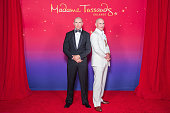 In this handout photo provided by Madame Tussauds Orlando rapper Pitbull attends the unveiling of his wax likeness at Madame Tussauds May 29 2015 in...