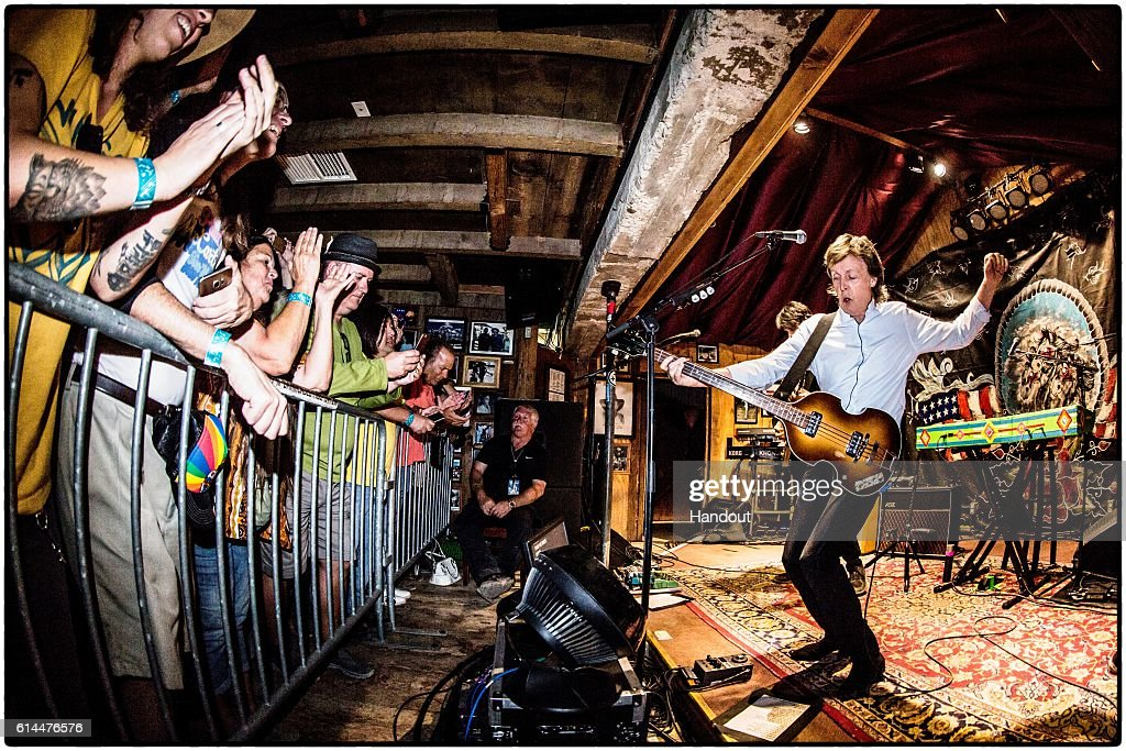 Paul McCartney Performs At Pappy and Harriet's