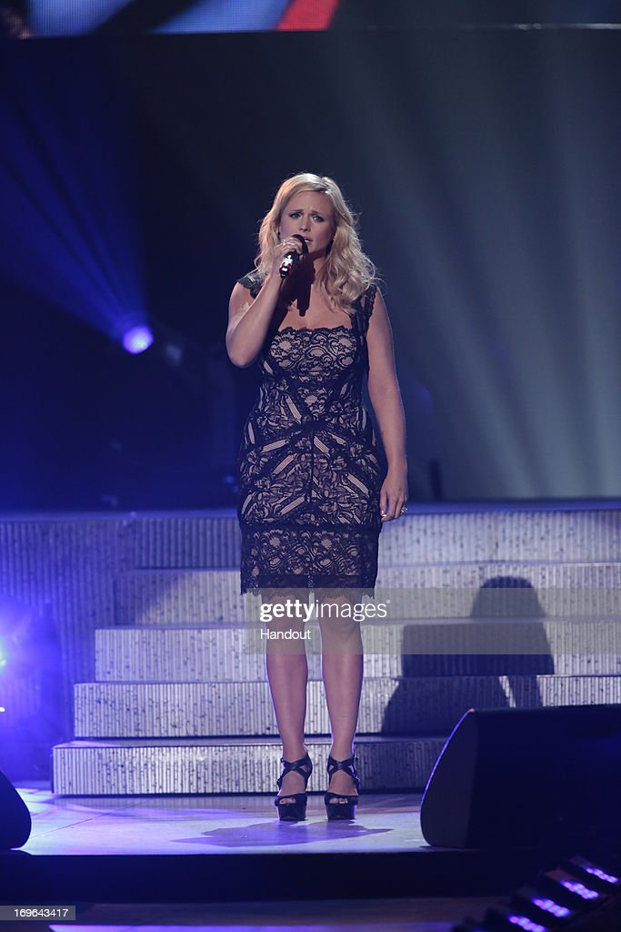 In this handout photo provided by NBC, Miranda Lambert performs during the Healing in the Heartland: Relief Benefit Concert held at the Chesapeake Arena on May 29, 2013 in Oklahoma City, Oklahoma.