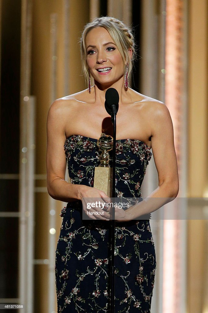 In this handout photo provided by NBCUniversal Joanne Froggatt Winner of Best Supporting Actress Series/MiniSeries/TV Movie for 'Downton Abbey'...