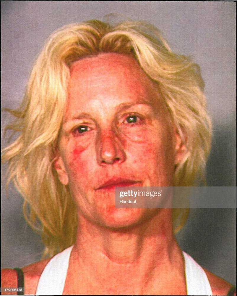 In this handout photo provided by Nevada Department of Wildlife, Erin Brockovich-Ellis is seen in a police booking photo after her arrest on charges of operating a boat while intoxicated June 7, 2013 in Las Vegas, Nevada. The incident occurred at the Lake Mead National Recreation Area. Brockovich-Ellis was booked and released on USD 1,000 bail.