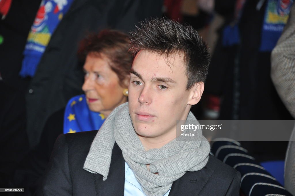 In this handout photo provided by Palais Princier, Louis Ducruet attends the Monte-Carlo 37th International Circus Festival on January 18, 2013 in Monte-Carlo, Monaco.