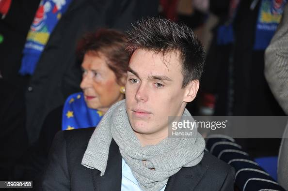 In this handout photo provided by Palais Princier Louis Ducruet attends the MonteCarlo 37th International Circus Festival on January 18 2013 in...