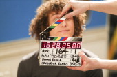 In this handout photo provided by Pepsi on April 2 David Luiz is pictured on the set of Pepsi's new global commercial and interactive film 'NOW IS...