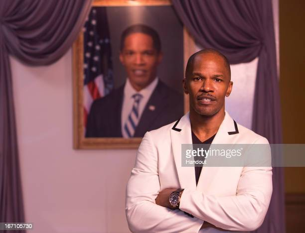 In this handout photo provided by Sony Pictures Entertainment Jamie Foxx attends the 'White House Down' photo call at the 5th Annual Summer of Sony...