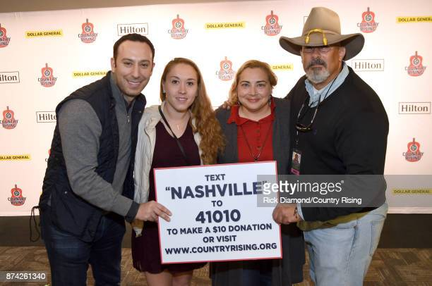 In this handout photo provided by The Country Rising Fund of The Community Foundation of Middle Tennessee Mark Weinstein Kelsey Ray Lissette...