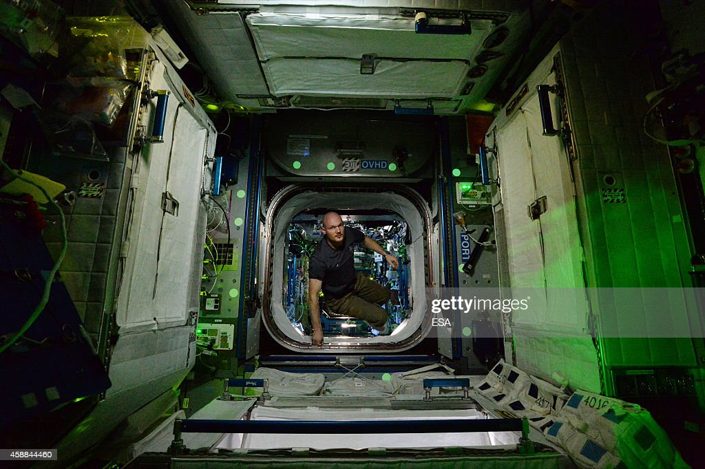 In this handout photo provided by the European Space Agency (ESA) on October 31, 2014, German ESA astronaut <a gi-track='captionPersonalityLinkClicked' href=/galleries/search?phrase=Alexander+Gerst&family=editorial&specificpeople=5862799 ng-click='$event.stopPropagation()'>Alexander Gerst</a> took this image of the Space Station at night whilst aboard the International Space Station (ISS). Gerst returned to earth on November 10, 2014 after spending six months on the International Space Station completing an extensive scientific programme, known as the 'Blue Dot' mission (after astronomer Carl Sagan's description of Earth, as seen on a photograph taken by the Voyager probe from six billion kilometres away).