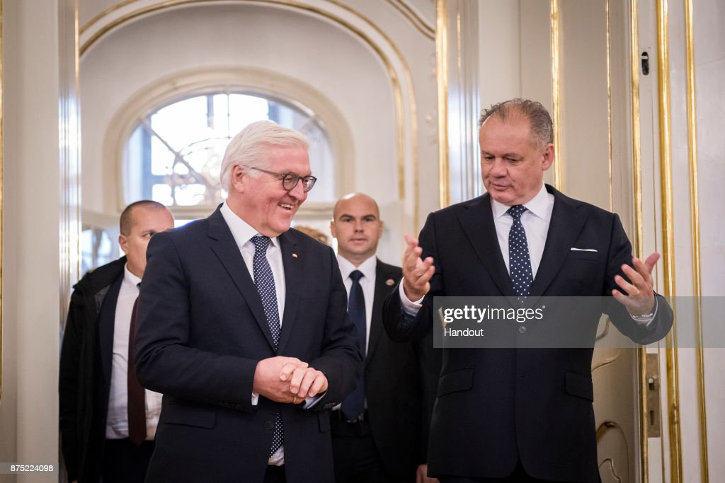 German President Frank-Walter Steinmeier Visits Slovakia