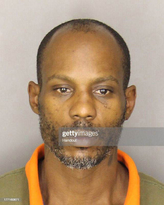 Rapper Earl Simmons, AKA DMX, Booking Photo