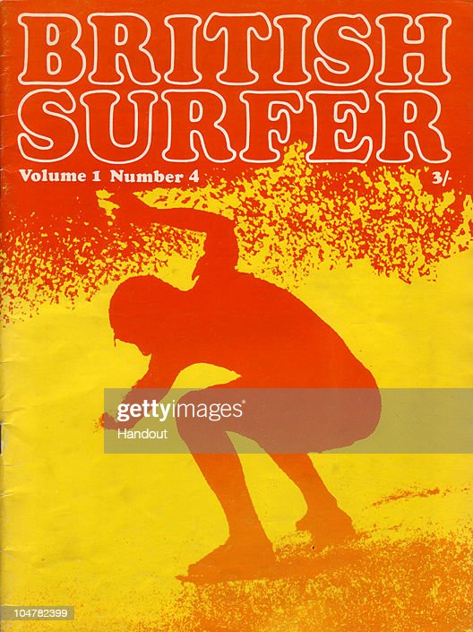 In this handout photo provided by the Museum of British Surfing, A copy of the 1969 British Surfer Magazine held by the Museum of British Surfing is seen on October 4, 2010 in Braunton, England. The Museum of British Surfing, a charity which originally started online, has been touring the UK since 2004 and is Europe's first surf museum. It holds the largest surfboard collection in Britain and has secured funding for a permanent home, which will open in Braunton next summer. As well as the collection of surfboards dating back over 100 years, the museum also holds early wetsuits, photos and other memorabilia relating to the phenomenal growth in the popularity of surfing. Although many people assume surfing in the UK began in the 1960s, the museum contains evidence that show that it was in fact already a mass participant activity on British beaches by the end of the First World War. Surfing is now a multi-million pound industry and employs 1000s of people in the UK. (Photo from the collection of the Museum of British Surfing - www.museumofbritishsurfing.org.uk via Getty Images) For use with Surf Museum feature only. Mandatory credit should read 'From the collection of the Museum of British Surfing - www.museumofbritishsurfing.org.uk'