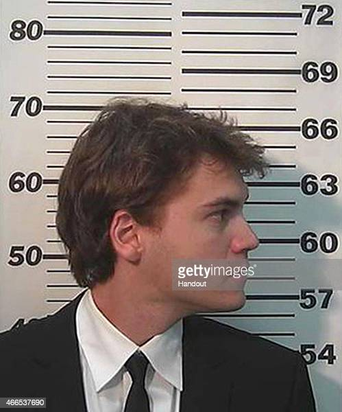 In this handout photo provided by the Summit County Sheriff's Office Emile Hirsch is seen in a police booking photo March 16 2015 in Park City Utah...