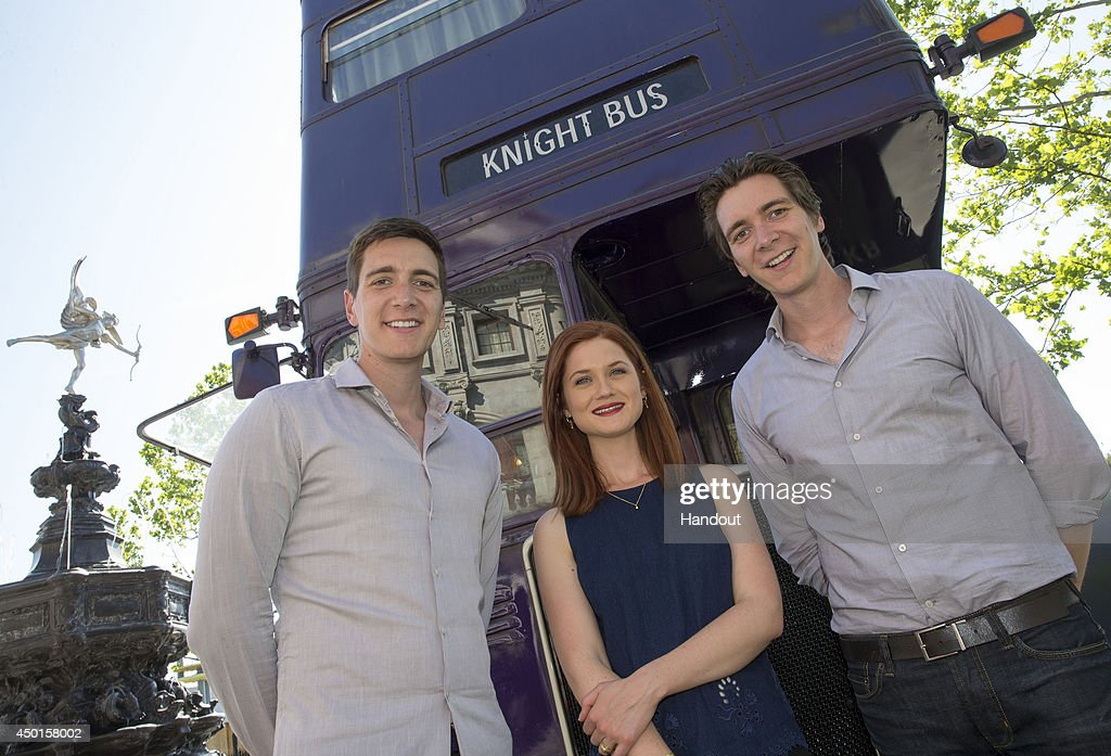 Harry Potter Film Stars Get A Sneak Peek Of The Wizarding World Of Harry Potter - Diagon Alley At Universal Orlando Resort