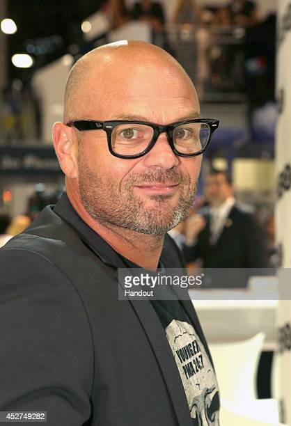 in this handout photo provided by Warner Bros Chris Bauer of 'True Blood' attends ComicCon International 2014 on July 26 2014 in San Diego California