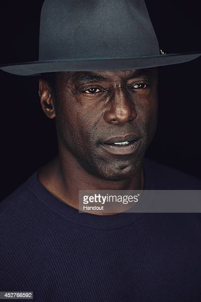 In this handout photo provided by Warner Bros Isaiah Washington of 'The 100' attends ComicCon International 2014 on July 26 2014 in San Diego...