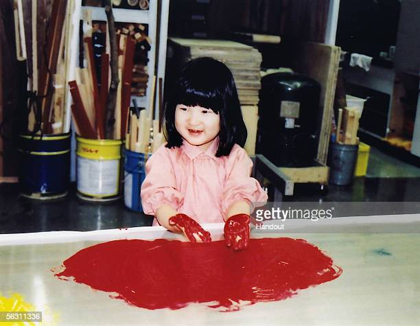 In this Handout Photo released on December 1 2005 by the Imperial Household Agency Japan's Princess Aiko who celebrates her 4th birthday today enjoys...