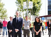 Spanish Royals Take Minute Of Silence For the COVID 19...