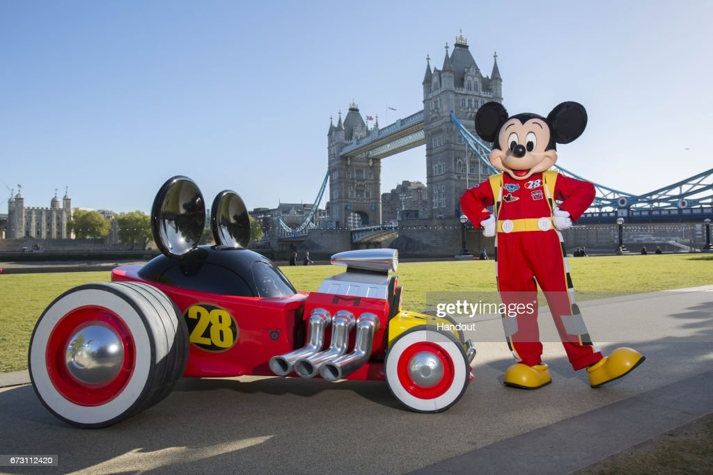 mickey mouse washington mickey mouses model roadster racer is spotted in london to