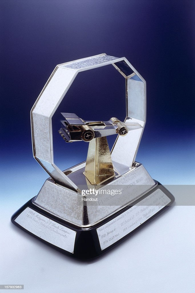 In this handout provided by Federation Internationale de l'Automobile (FIA), the FIA Formula One World Championship Race promoters trophy is shown at the FIA Prize Giving Gala 2012 on December 7, 2012 in Istanbul, Turkey.
