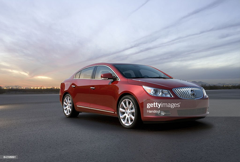 In this handout provided by General Motors the 2010 Buick LaCrosse luxury sedan which will make its world debut at the North American International...