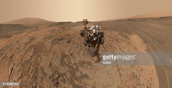 In this handout provided by NASA/JPLCaltech/MSSS This selfportrait of NASA's Curiosity Mars rover shows the vehicle at the 'Mojave' site where its...