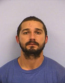 In this handout provided by the Austin Police Department Shia Saide LaBeouf poses for a mugshot photo after he was was arrested for Public...