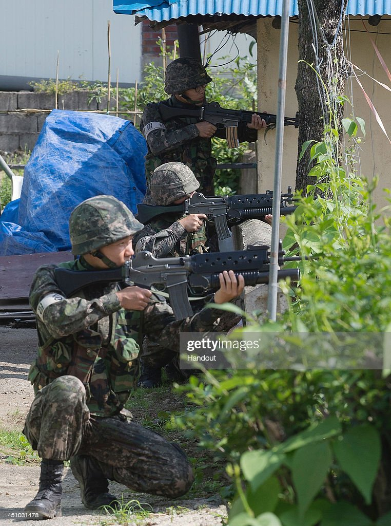 Goseong-gun South Korea  City new picture : ... Goseong gun, South Korea. An army sergeant killed five soldiers and