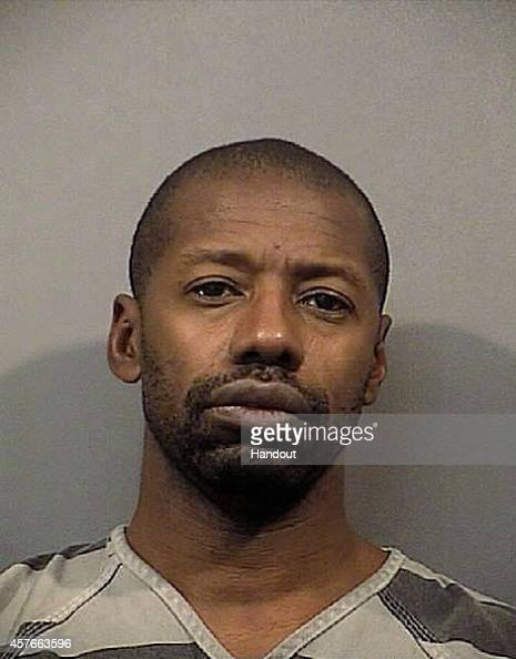 In this handout provided by the Lake County Sheriff Department Darren Vann poses for a mug shot photo in Gary Indiana According to police Darren Deon...