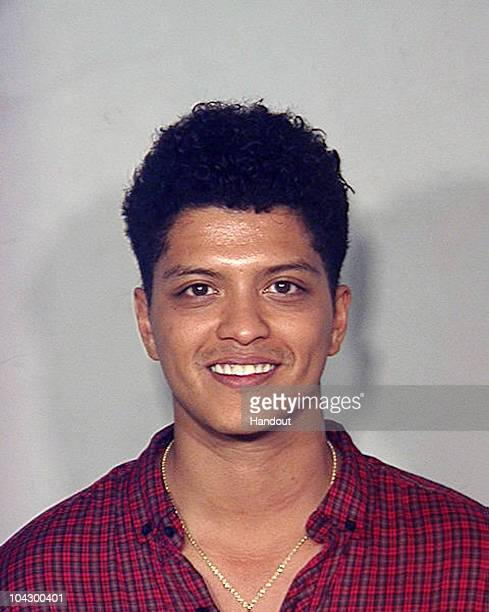 In this handout provided by the Las Vegas Metropolitan Police Department Peter Hernandez a HipHop performer whose stage name is 'Bruno Mars' poses...